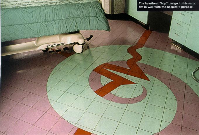 Design Of Floor award-winning ceramic floor design gets to the heart of wellness