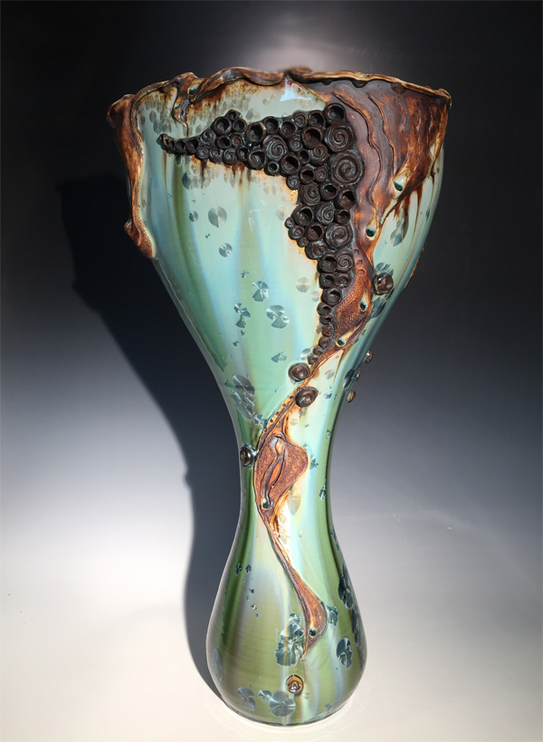 Large Sculptural Vase Two - Click Image to Close