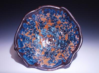 Crystalline Glazed Sinks