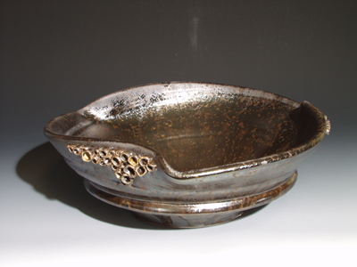 Delightful Oilspot Sink With Second Lip And Sculptural Cups Symetrical Bend Vessel Sink .